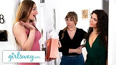GIRLSWAY – Lena Paul's Humid Threesome Bday Bounty Surprise