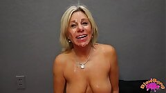 Mature Mummy Payton Hall Gets Meaty Facial from 25 Yr Old