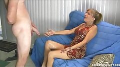 Kinky Mature Lady Gets A Cumblast