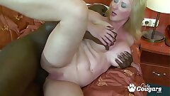 Cougar Monika Wipper Has Her Big Milky Booty Nailed By A BBC