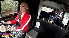 Female Fake Cab Kayla Green creampied with her big jugs out