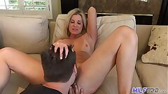 MILFTRIP Step Mommy Welcomes Step Son Home With Wet Mouth