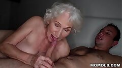Be quiet, my husband's sleeping! - Greatest granny porn ever!
