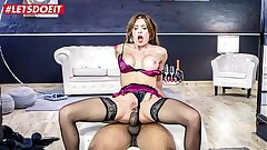 LETSDOEIT - Scorching Russian MILF Kitana Lure Gets Ass-fuck Dominated By Big black cock
