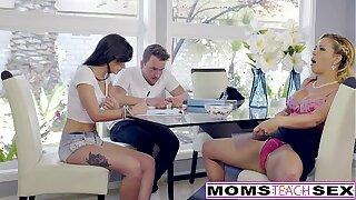 Torrid Step-Mom Cherie Deville Seduces Daughters BF