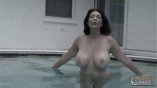 Underwater Meatpipe Teasing with Big TIt MILF Charlee Chase