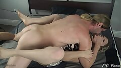 Sonnie Forces Mommy to Fuck Him - Fifi Foxx and Cock Ninja