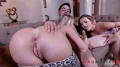 Big Booty Teen Bailey Brooke Has Threesome With Her Boyfriend And Super hot Step Mom Natasha Starr After Booty Competition