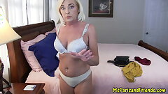 Mommy Cums Around to Her Son's Way of Thinking