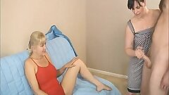Two Mature Nymphs Ask For A Cumshot