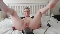 hanysy hubby at work and I needed a hard-on intercourse machine