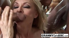 Both Nina and Trina get DP'd in this scorching interracial orgy