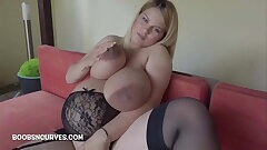 Intensely pregnant with massive baps