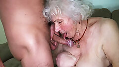 Curvy 91 year older mommy fucked by toyboy