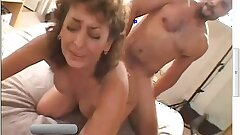 50 Yr Old Unexperienced Granny Gets Busy on Big Ebony Cock in Interracial Video