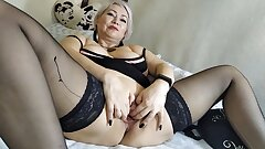 Gaping pussy of my mature milf wife… Envy, guys! ))