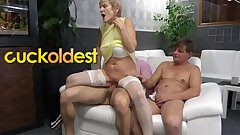 Father and Stepson Are Cuckolding Mommy Favorite