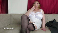 Sally paramours her girdles